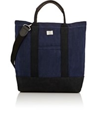 Billykirk Men's Colorblocked Tote Bag Navy