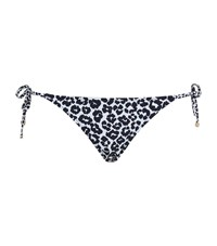 Stella Mccartney Animal Print Tie Side Bikini Bottom Female Multi