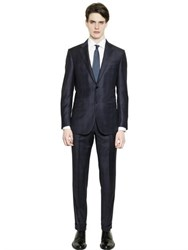 Ermenegildo Zegna Milano Easy Checked Wool Suit