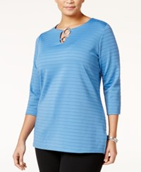 Jm Collection Plus Size Embellished Keyhole Tunic Only At Macy's Quiet Harbor