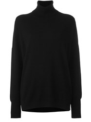 Malo Roll Neck Pullover Black