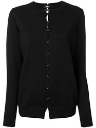 Yang Li Cut Out Jumper Virgin Wool Black