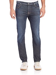 7 For All Mankind Paxtyn Tapered Leg Jeans Voltage