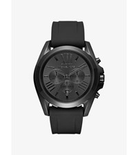 Bradshaw Black Tone And Silicone Watch