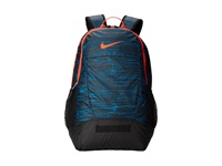 Nike Team Training Medium Backpack Graphic Light Blue Lacquer Black Bright Crimson Bright Crimson Backpack Bags