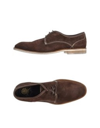 H By Hudson Lace Up Shoes Dark Brown