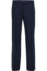 Emilio Pucci Cropped Stretch Crepe Straight Leg Pants