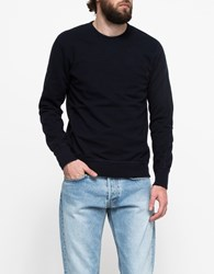 Reigning Champ Core Crew Neck Navy