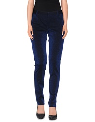 Pf Paola Frani Casual Pants Dark Blue