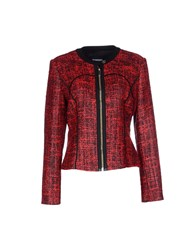 Dirk Bikkembergs Coats And Jackets Jackets Women Red
