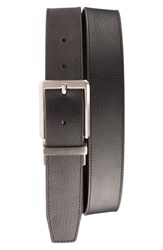 Men's Nike 'Core' Reversible Leather Belt Black Brown
