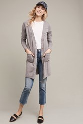 Anthropologie Savera Lightweight Cardigan Grey