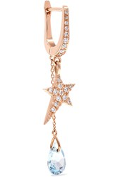 Diane Kordas Star 18 Karat Rose Gold