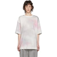 Juun.J Multicolor Tie Dye Cloud T Shirt