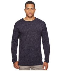 Publish Rellen Drop Shoulder Long Sleeve Navy Men's Clothing