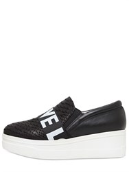 Kg By Kurt Geiger 55Mm Lover Peace And Love Slip On Sneakers