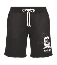 Polo Ralph Lauren Logo Sweat Shorts Male Black