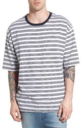 Zanerobe Men's Box Stripe T Shirt