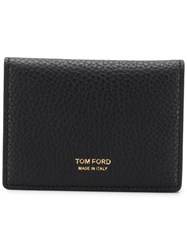 Tom Ford Textured Leather Wallet Black