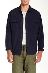 Relwen Cpo Jacket Blue