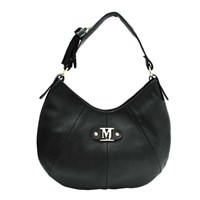Marta Jonsson Shoulder Bag With Zipper Black