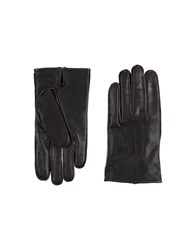 Boss Black Accessories Gloves Men Dark Brown
