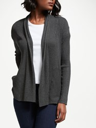 John Lewis Collection Weekend By Edge To Edge Cardigan Charcoal