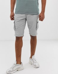 Solid Cargo Short Light Grey