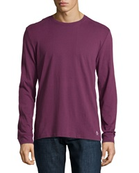 Penguin Long Sleeve Lounge Shirt Italian Plum