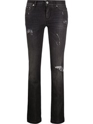 Dolce And Gabbana Ripped Slim Fit Jeans 60