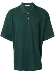 Gosha Rubchinskiy Oversized Polo Shirt Green