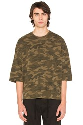 Stampd Camo Washed Oversized Tee Army