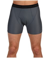 Exofficio Give N Go R Boxer Brief Charcoal Underwear Gray