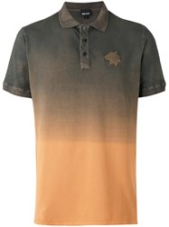 Just Cavalli Ombre Polo Shirt Green