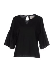 .. Merci Topwear T Shirts Women Black