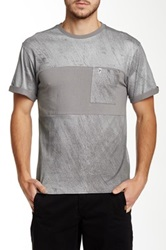 Ecko Unlimited Zippo Pocket Tee Gray