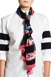 Moschino Printed Scarf Black