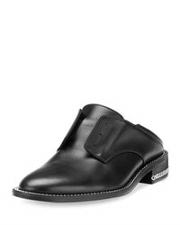 Givenchy Laceless Oxford Mule Slide Black