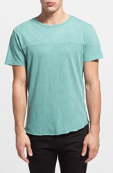 The Rail Mineral Wash T Shirt 2 For 30 Teal Peacock