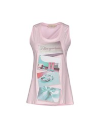 Just For You Tank Tops Light Pink