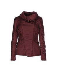 Richmond Denim Coats And Jackets Jackets Women Maroon
