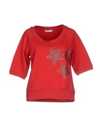 Relish Sweatshirts Brick Red