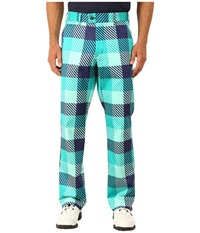 Loudmouth Golf Freeport Pants Mint Men's Casual Pants Green