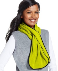 Style And Co. Fleece Oblong Scarf Only At Macy's Chartruese