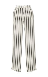 Asceno Jet Black Stripe Pajama Pants