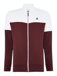 Le Coq Sportif Graphic Crew Neck Pull Over Jumpers Red