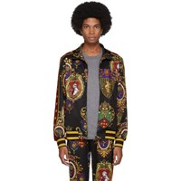 Dolce And Gabbana Multicolor Star King Track Jacket