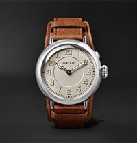 Oris Big Crown 1917 Limited Edition Automatic 40Mm Stainless Steel And Leather Watch Brown
