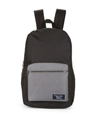 Original Penguin Two Tone Backpack True Black