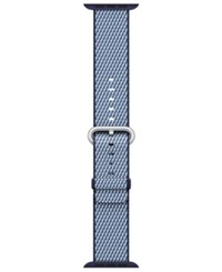 Apple Watch 42Mm Woven Nylon Midnight Blue Check